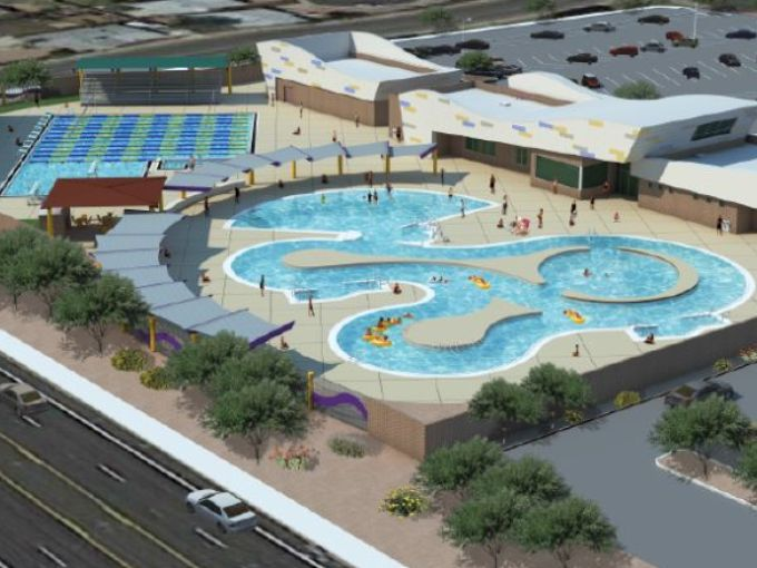 mesa aquatics center ellis corporation