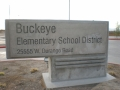 Buckeye School sign