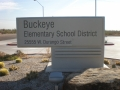 Buckeye School sign2